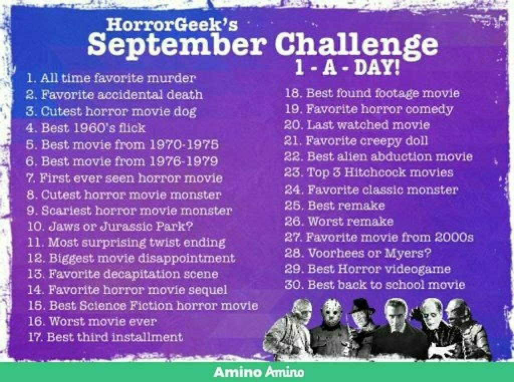 September Challenge Day 20 + Review   Horror Amino