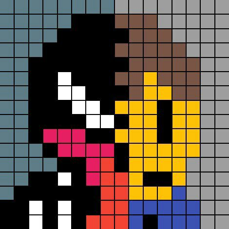 Venom Pixel Art Marvel Amino