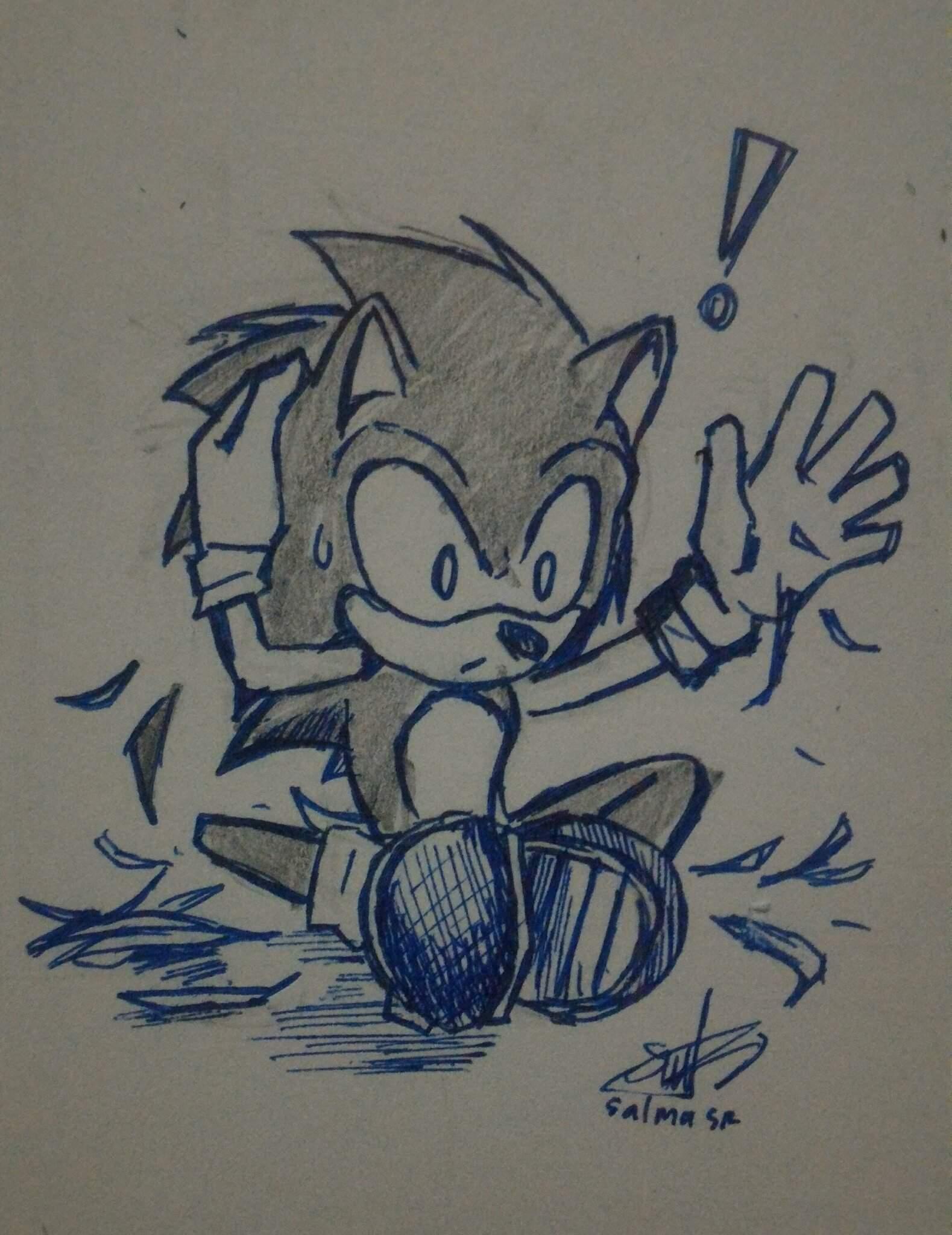 Sonic S Short Hair Cut Sonic The Hedgehog Amino