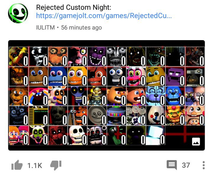 New Ultimate Custom Night Fan Game Features Missing Characters