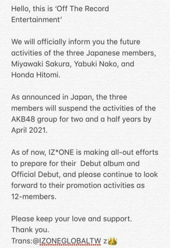 Debut Album?🤔 | IZONE Amino