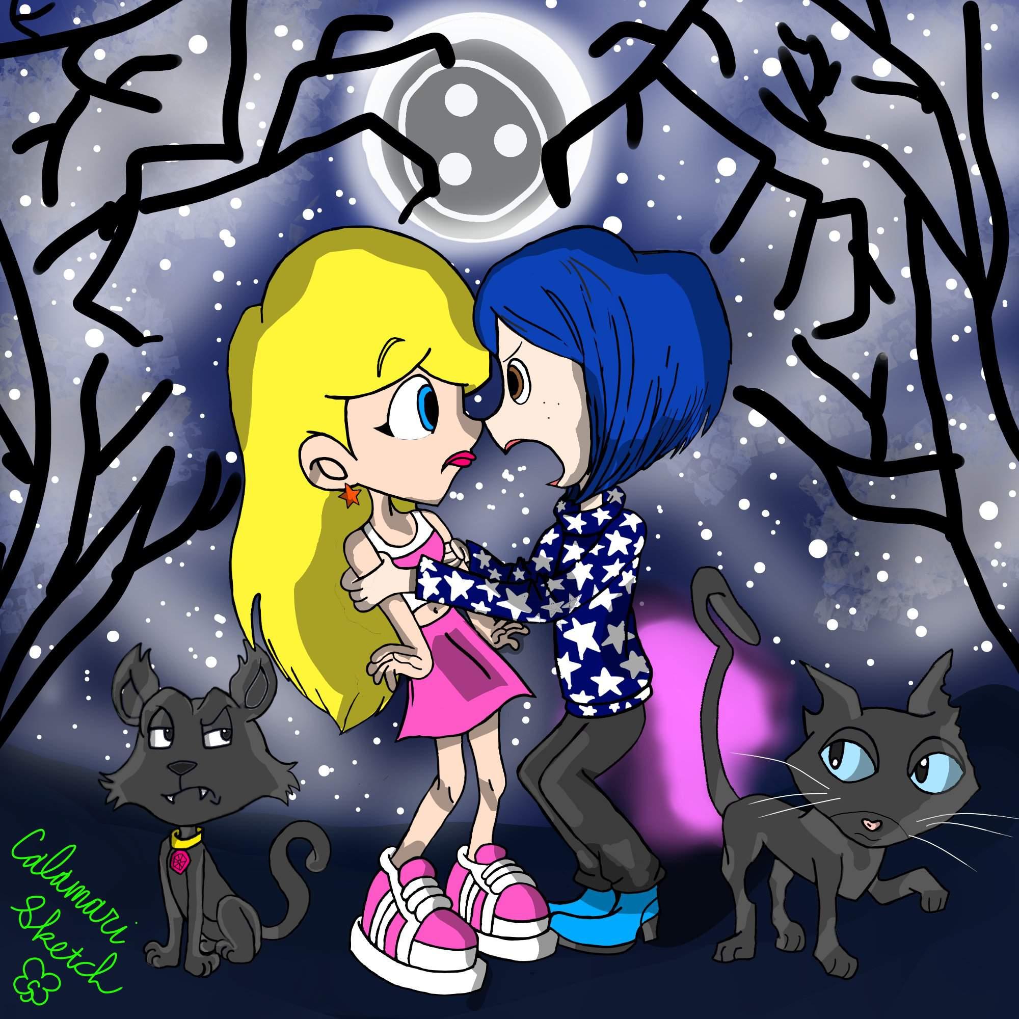 Sabrina Meets Coraline Fan Art Coraline Amino