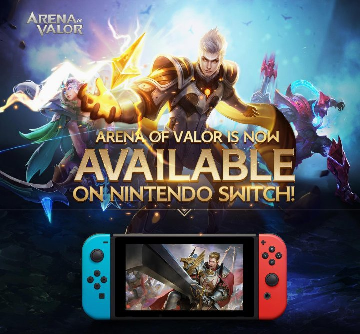 Arena of Valor on the Switch | ☆Arena of Valor Amino☆ Amino