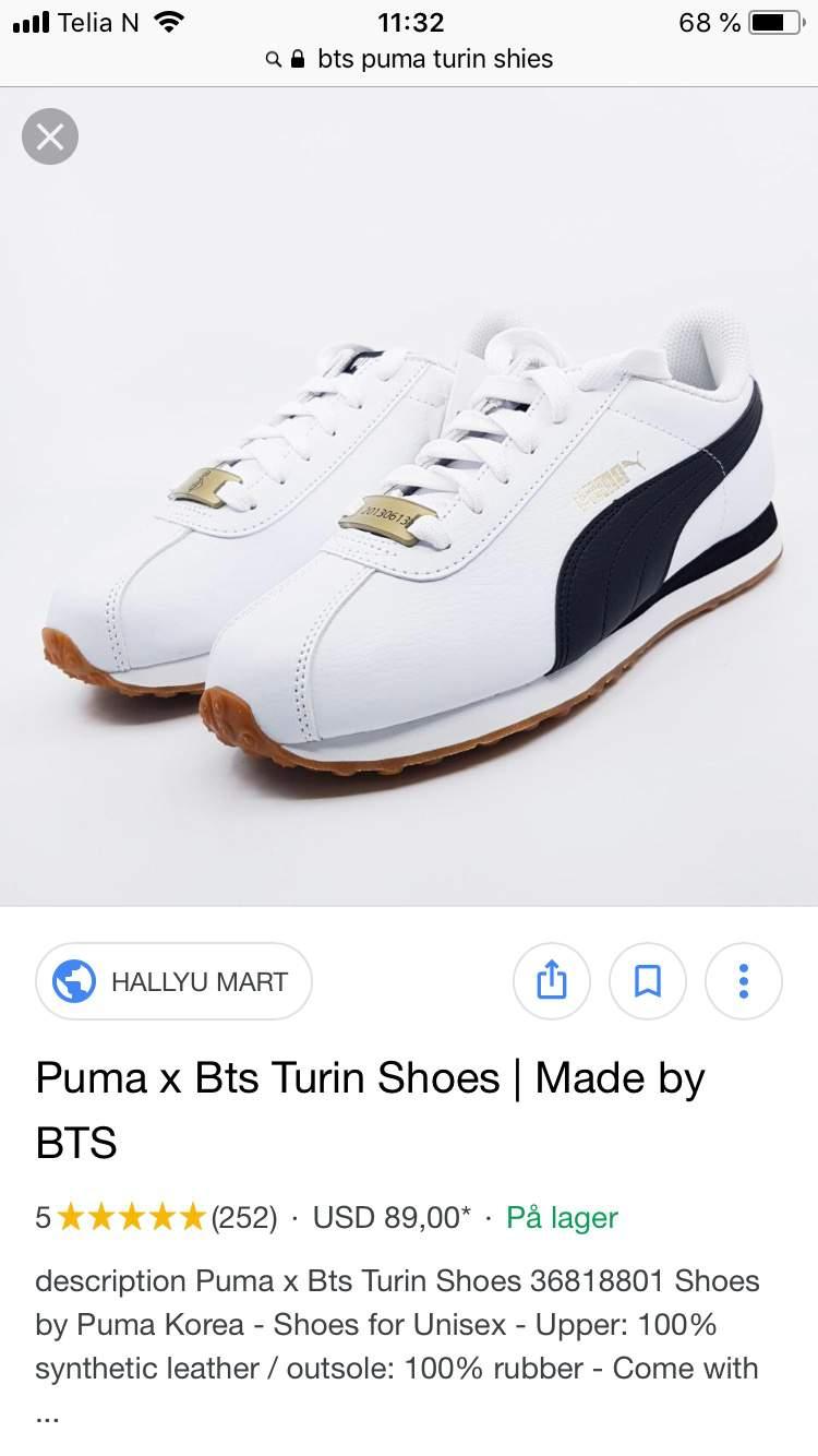 Puma x BTS Basket Patent | ARMY's Amino