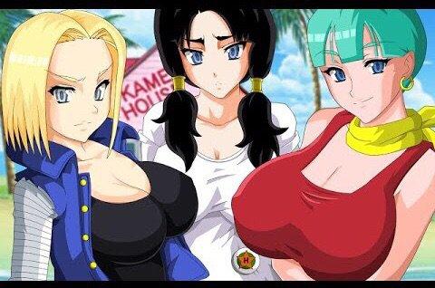 Master roshi fucks all hot girls from dragon ball