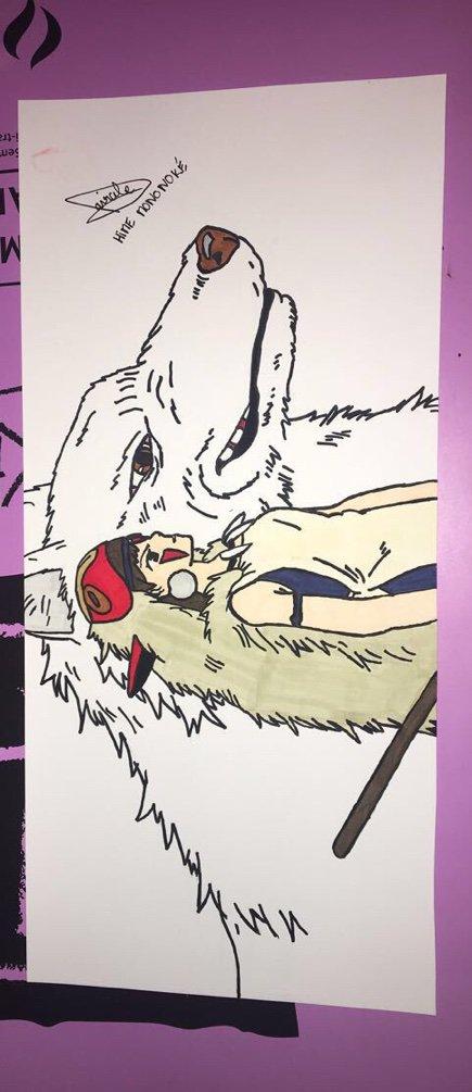 Dessin De Princesse Mononoké Studio Ghibli Fr Amino