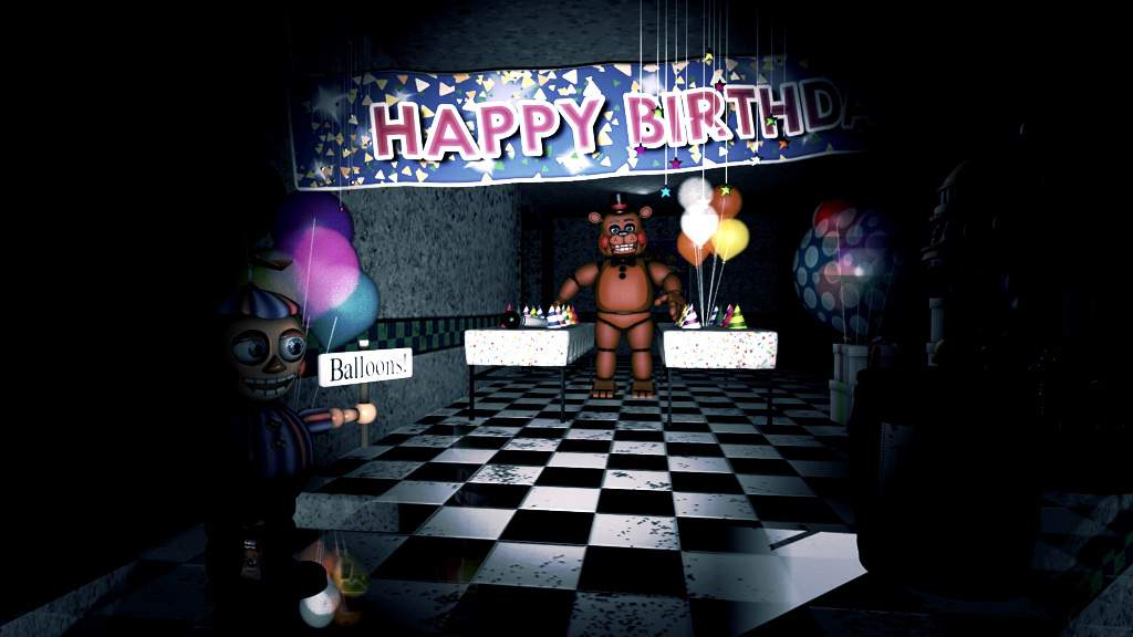 Fnaf 2 game area  | Five Nights At Freddy's Amino