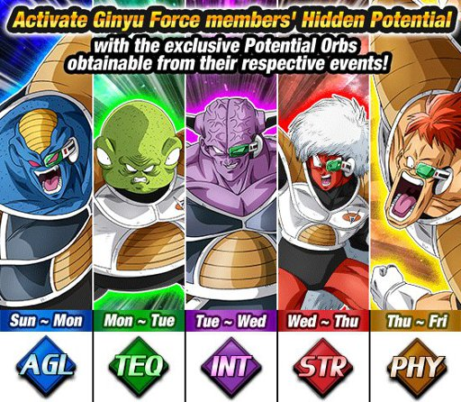 Ginyu Force Special Training | Wiki | Dokkan Battle KAIOKEN! Amino