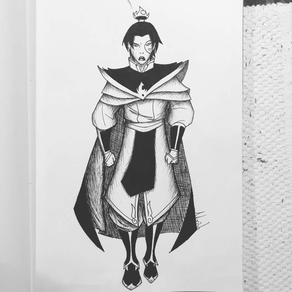 Inktober day 4 prince zuko avatar tla the promise check