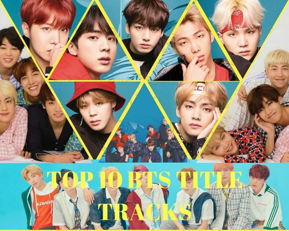 Top 10 BTS Title Tracks 💕 | K-Pop Amino