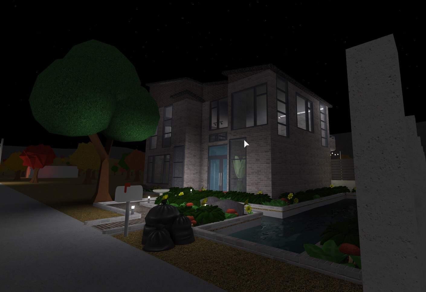 Bloxburg Large Modern House Build Roblox Amino