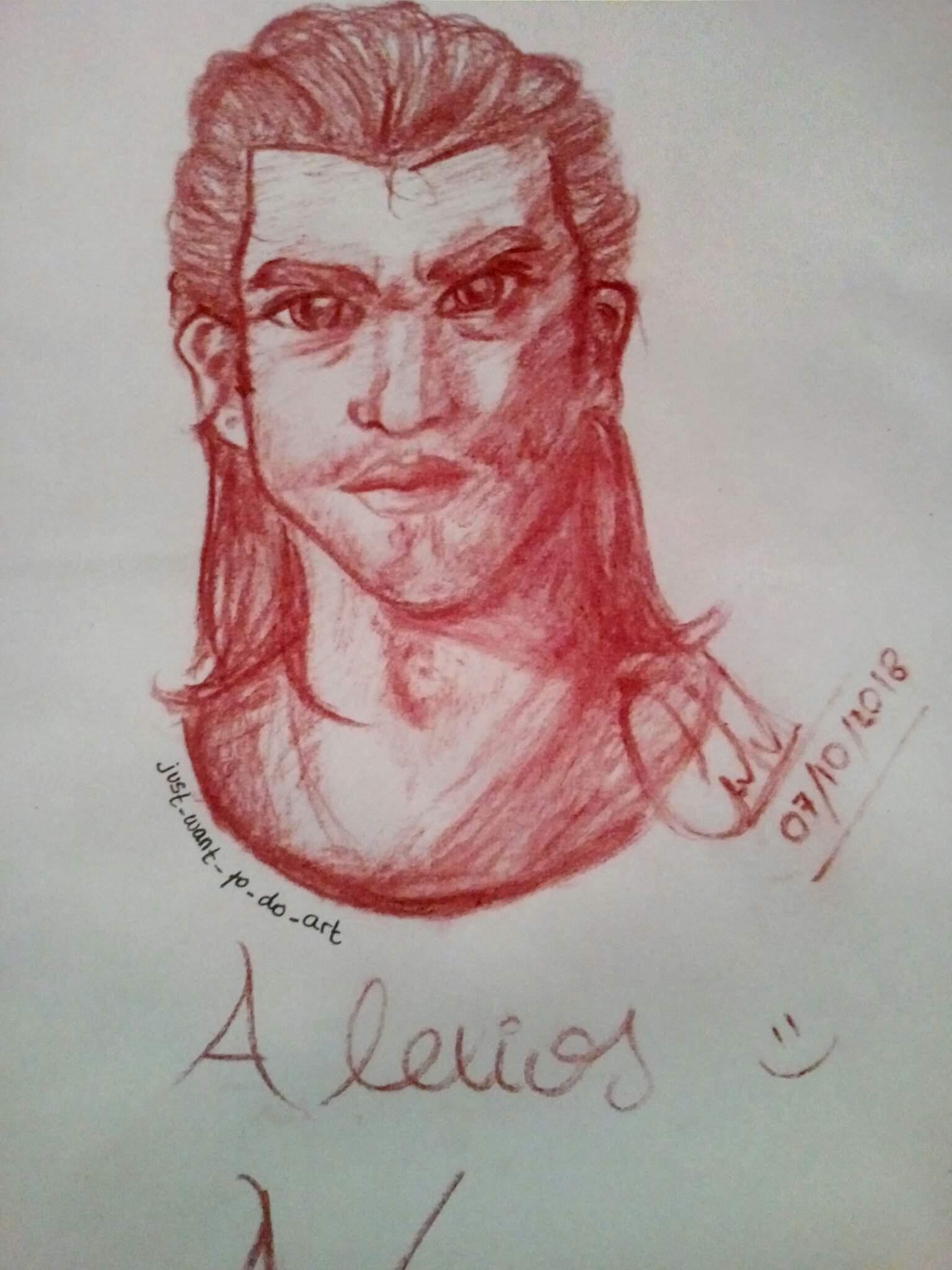 A Realistic Fanart Of Alexios Assassins Creed Amino