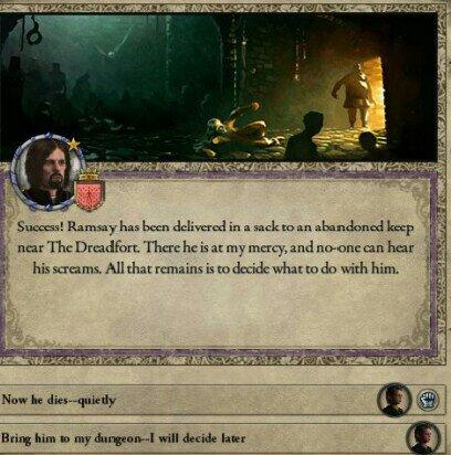 CK2 AGOT Diary : Kill 8 Year Old Ramsay Snow? | Thrones Amino
