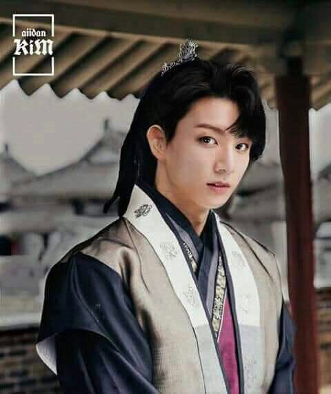 imagine bts as the main actors in a historical korean drama