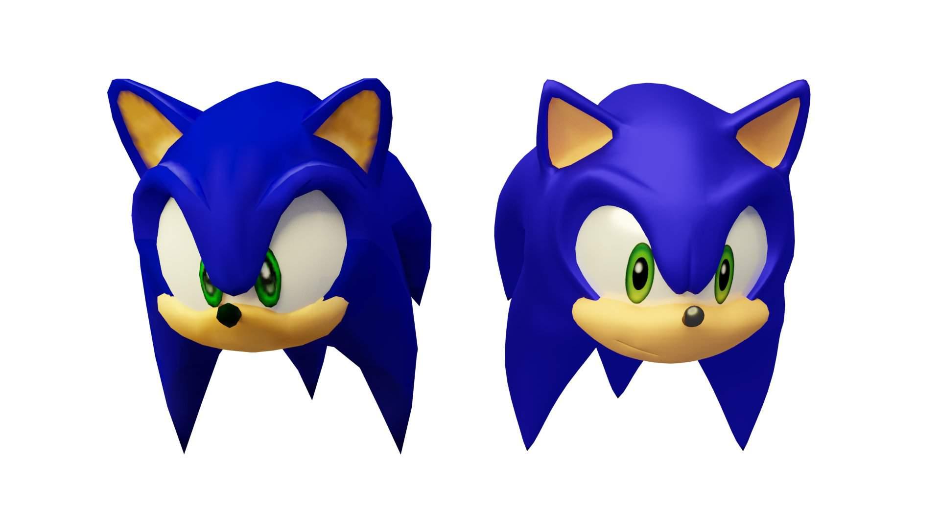Sonic Adventure 2 Model Remastered Sonic The Hedgehog Amino