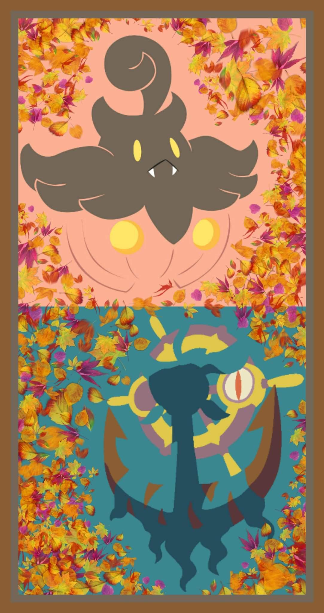 Fall Collage Wallpaper Pokémon Amino