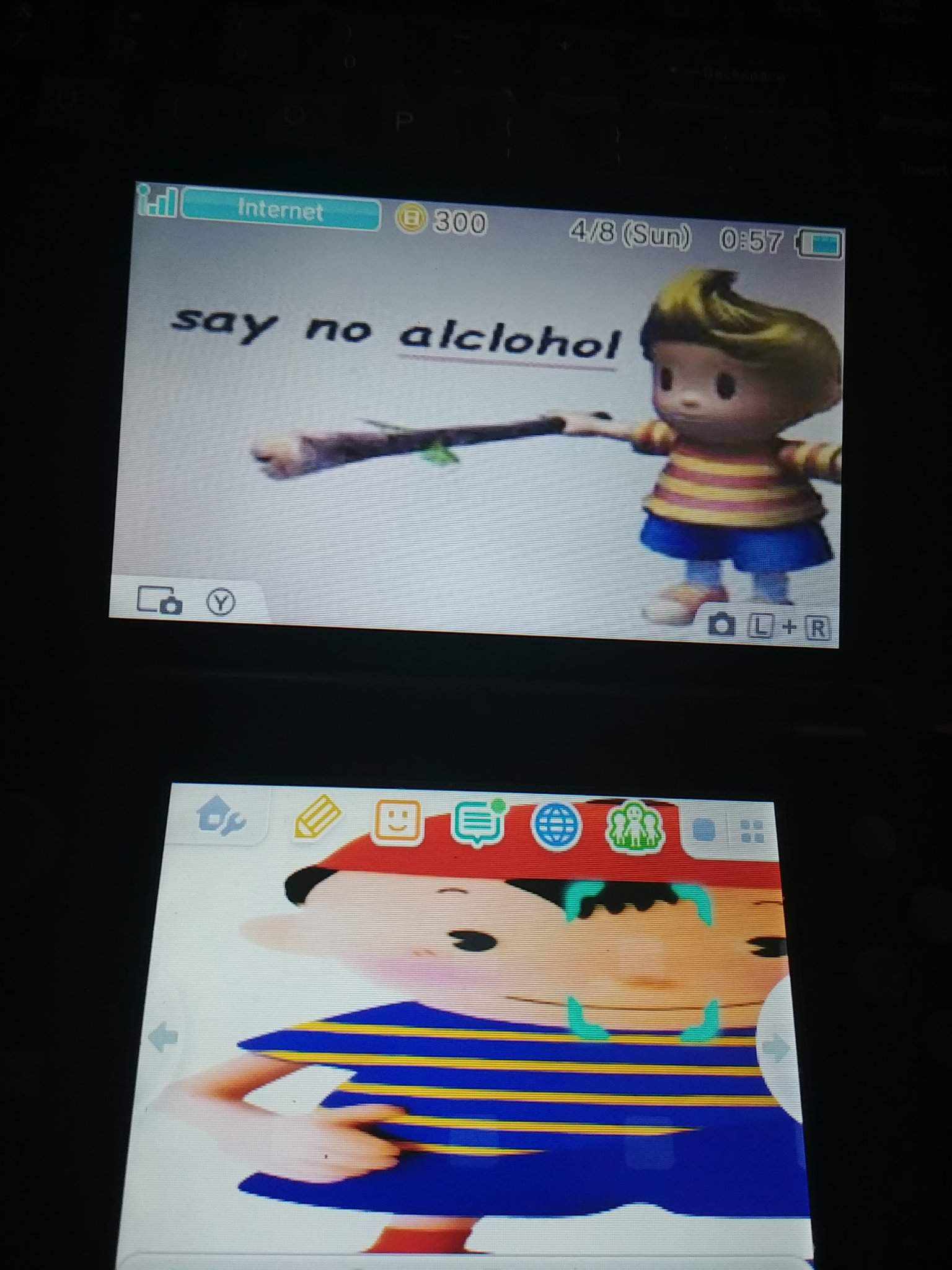 If you guys want an earthbound theme on ur 3/2ds