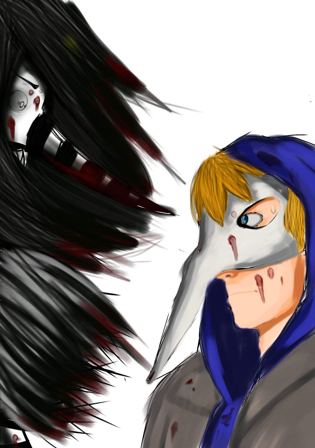Face It Isaac You D Be Lost Without Me Laughing Jack And Isaac Grossman Wip Mrcreepypasta Amino