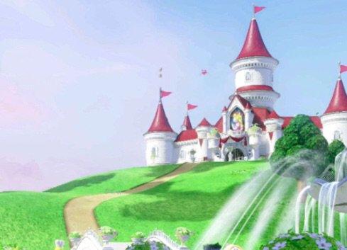 The Mushroom Kingdom Peaceful Landscape Au Blog Mario Amino