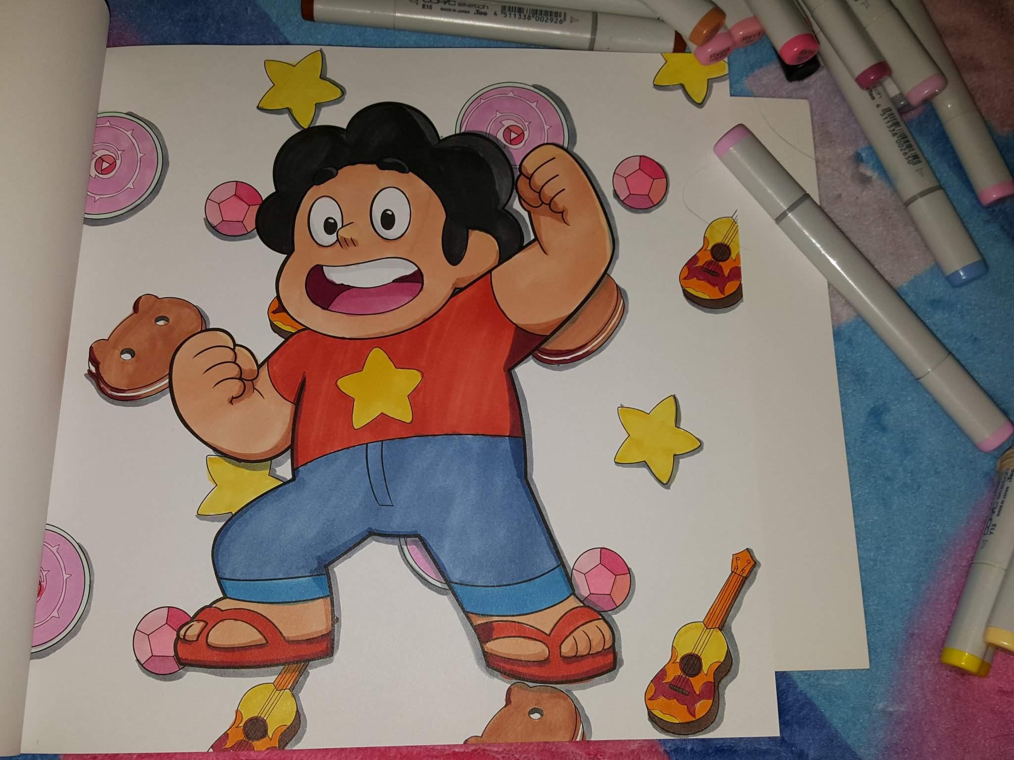 Steven Universe Coloring Book Outline Review Steven Universe Amino