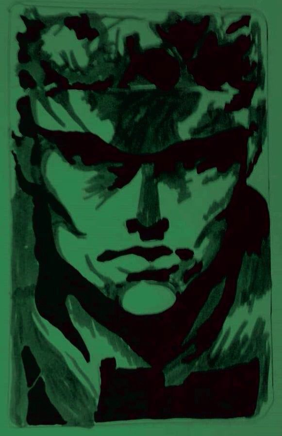 Solid Snake Metal Gear Solid Ps1 Art Amino