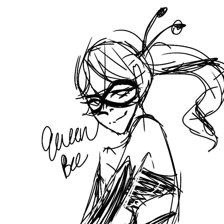 Queen Bee Sketch
