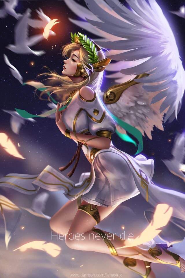 Mercy overwatch fanart
