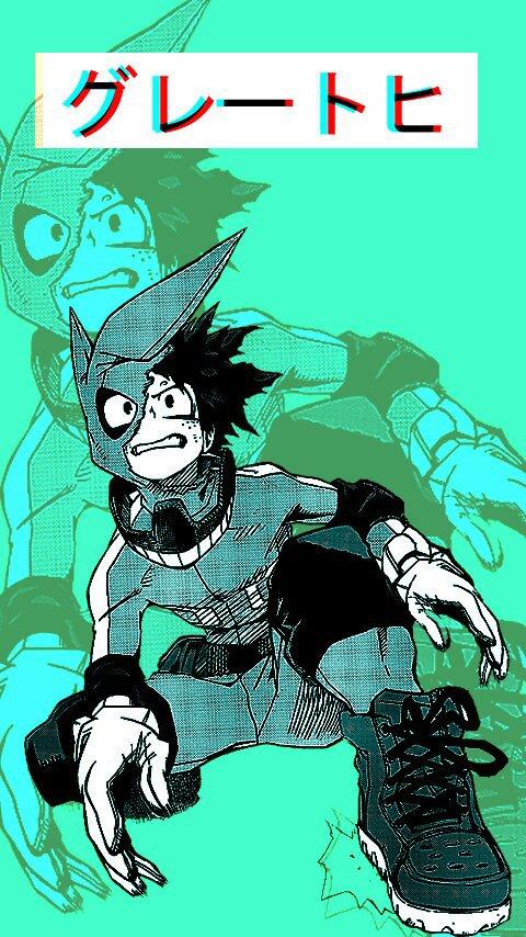 Midoriya Izuku Wallpaper By Grimer3d Boku No Hero