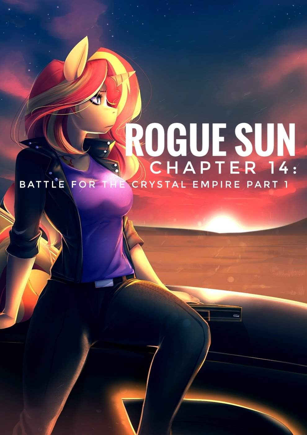 Rogue Sun chapter 14: Battle for the Crystal Empire part 1 | Fan
