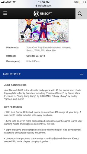 I was looking at the ubisof website then it hit me | Just Dance