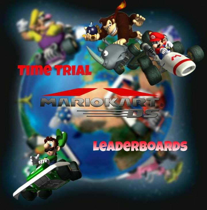 Mka Time Trial Leaderboards Mario Kart Ds Wiki Mario Kart Amino