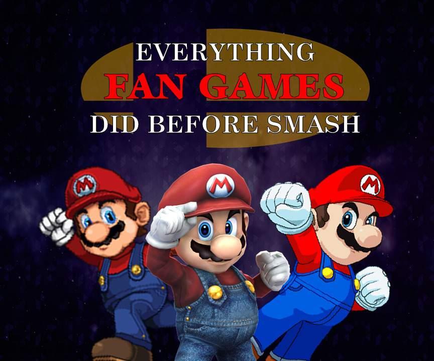 Everything Fan Games Did Before Smash | Smash Amino