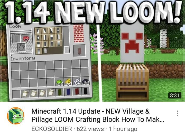 New Loom Crafting Block How To Make Banners In Seconds