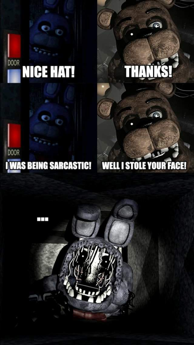 This Is Why Bonnie As No Face In Fnaf 2 Five Nights At Freddy S Amino
