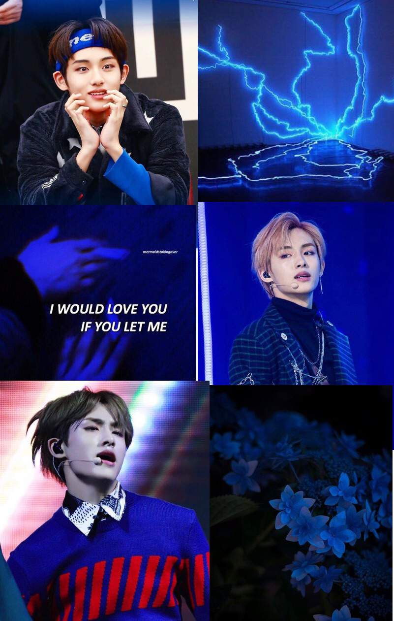 Nct Aesthetic Wallpaper Winwin Dark Blue Requested Nct