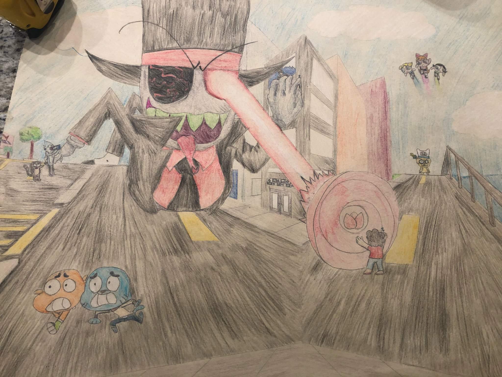 Cartoon Network Art Project Villainous Amino