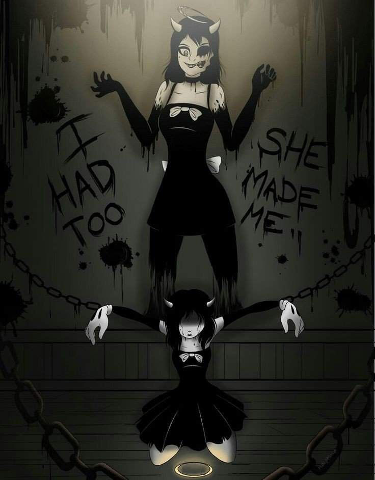 Open Up Your Eyes | Alice Angel Fanfic | Bendy and the Ink