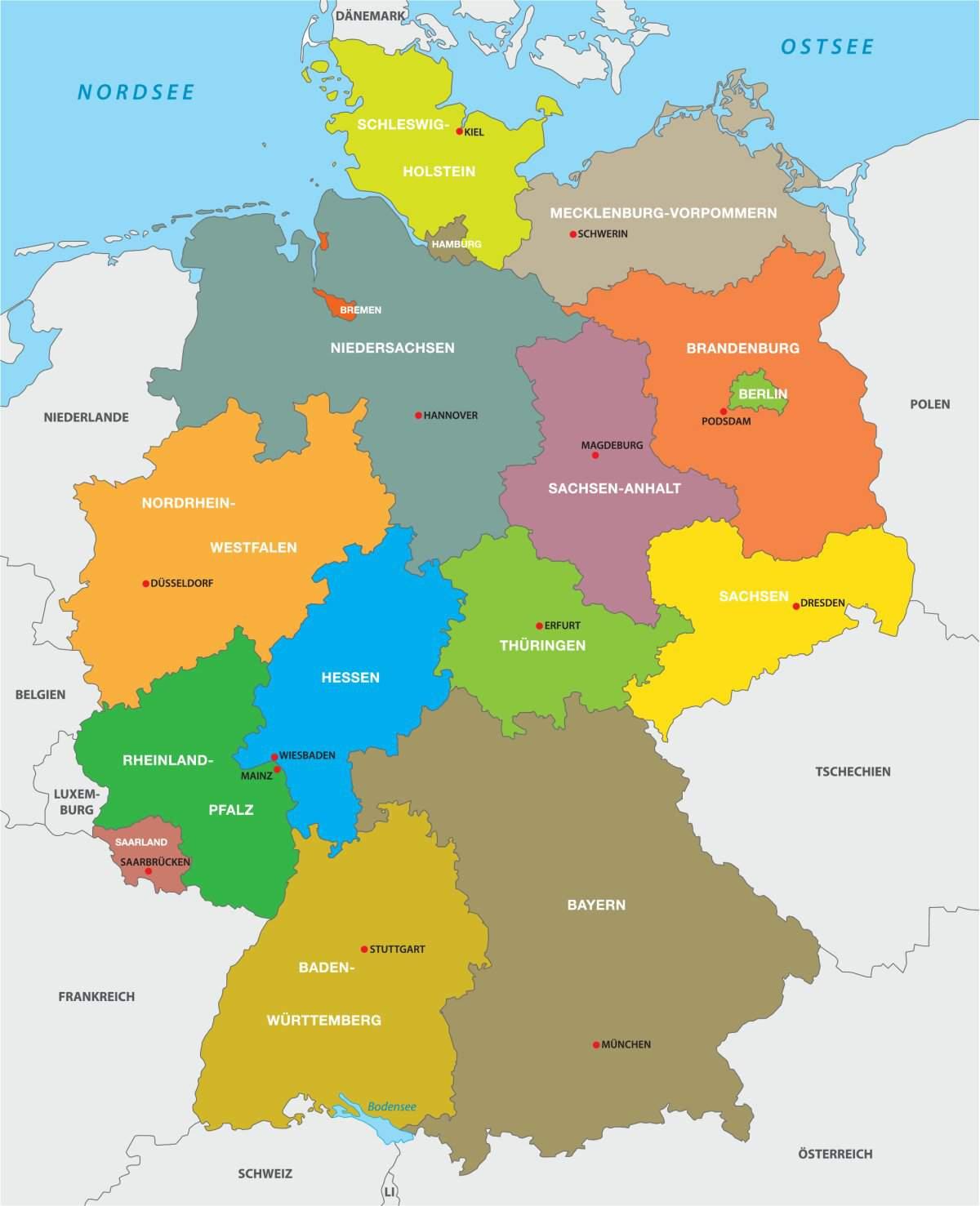Die Größten Bundesländer