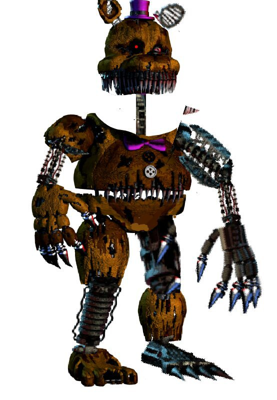 Ignited Nightmare Fredbear | Five Nights At Freddy's Amino