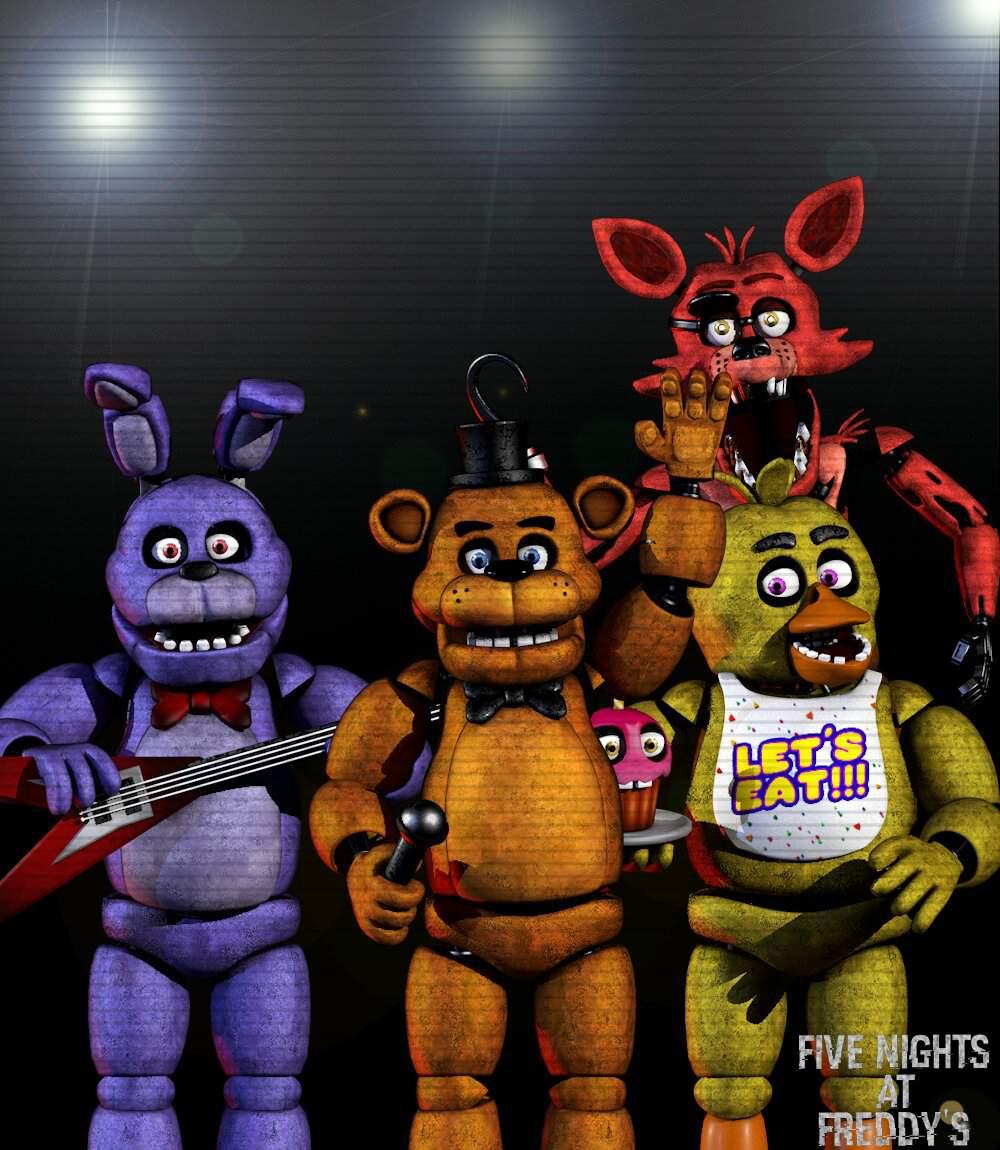 Five Nights At Freddy S Amino: [C4D/FNaF] Five Nights At Freddy's 1 Poster