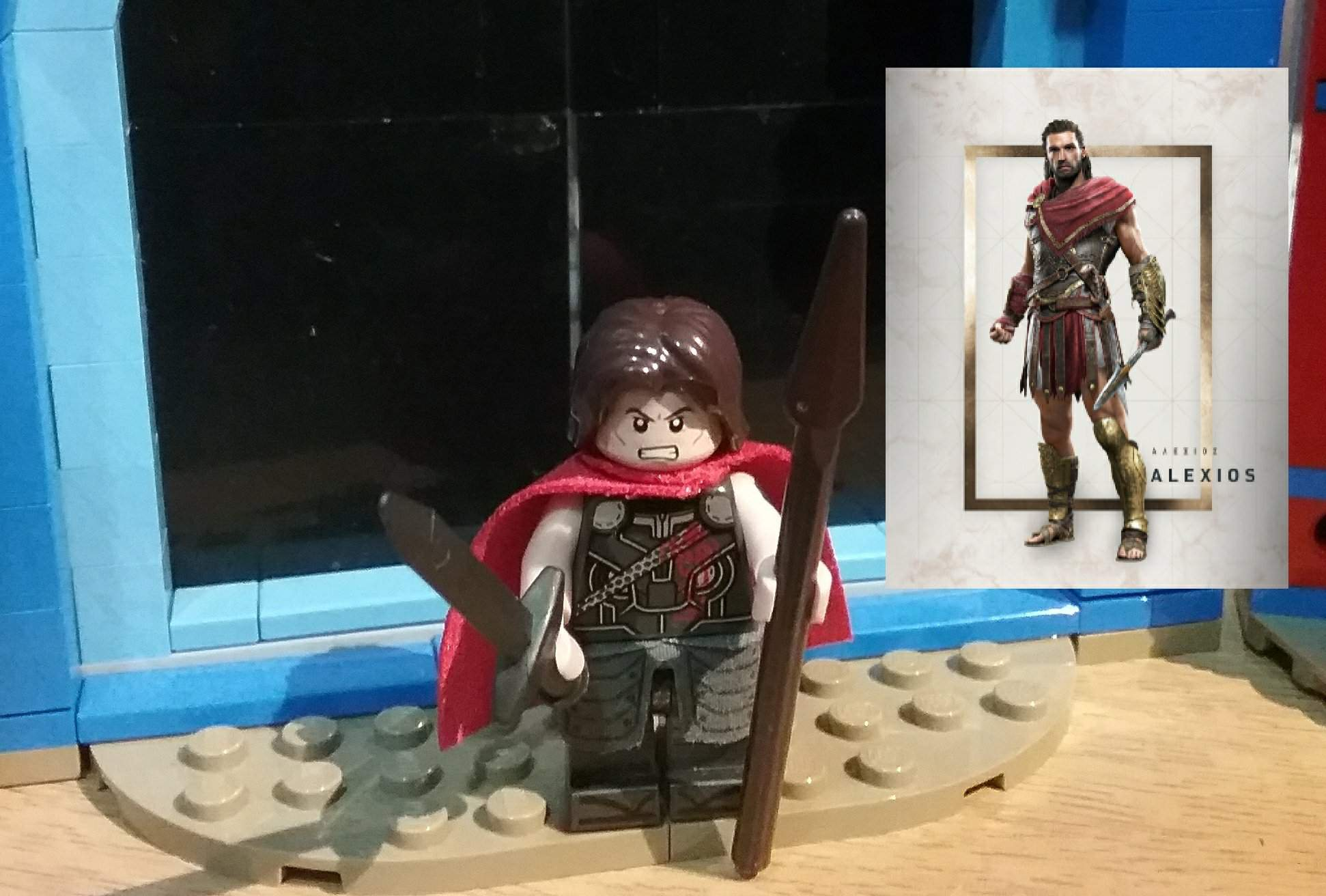 Custom LEGO minifigure Assassin/'s Creed Odyssey Alexios