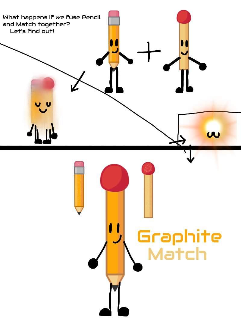 bfb fusions pencil match bfdi amino