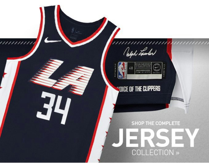 sports shoes ad1e3 ba89f The LA Clippers have unveiled their 2018-2019