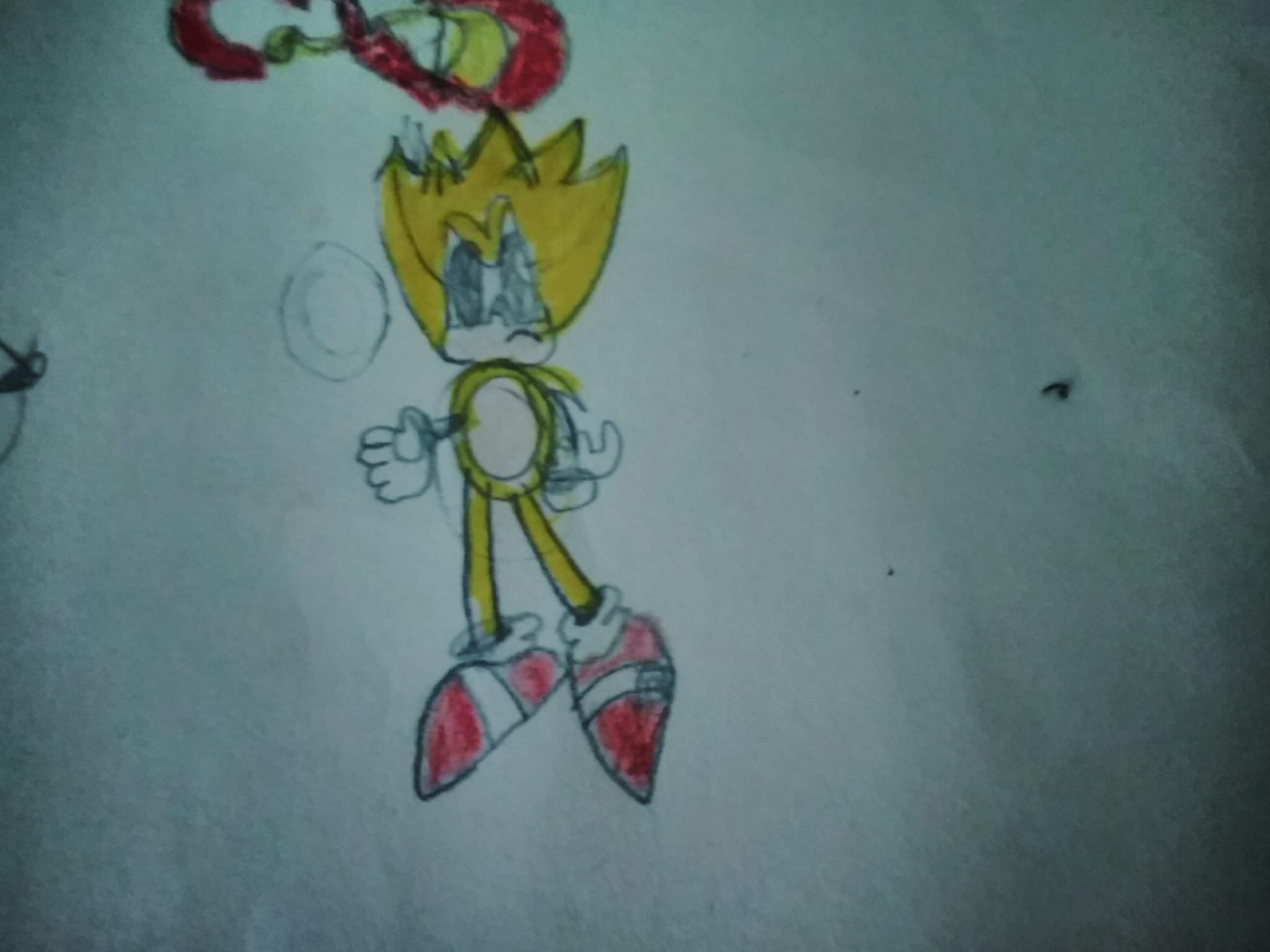 Some Drawings I Did In School With Zebra Paper Sonic The Hedgehog Amino