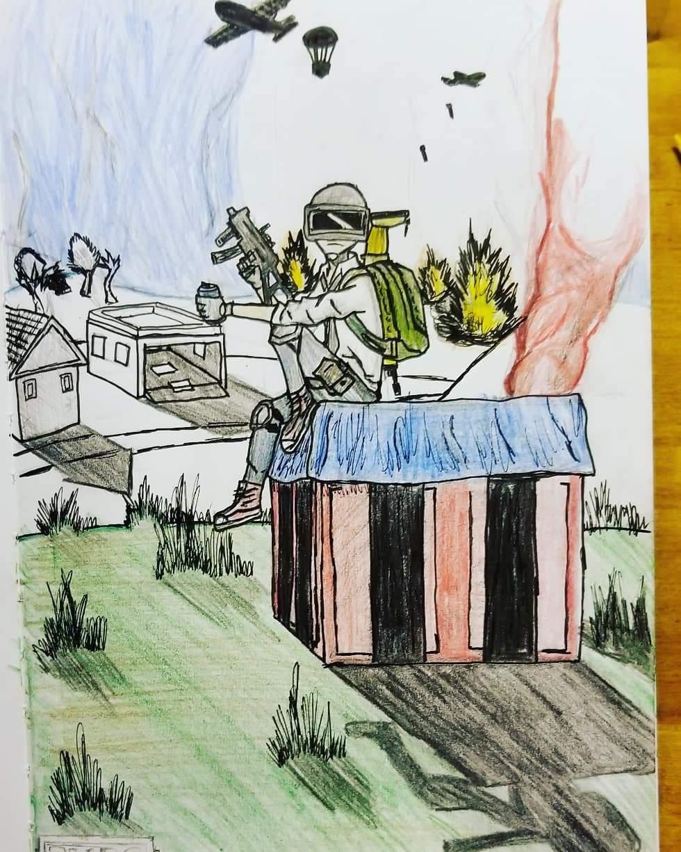 Pubg Drawing Pubg Mobile Amino