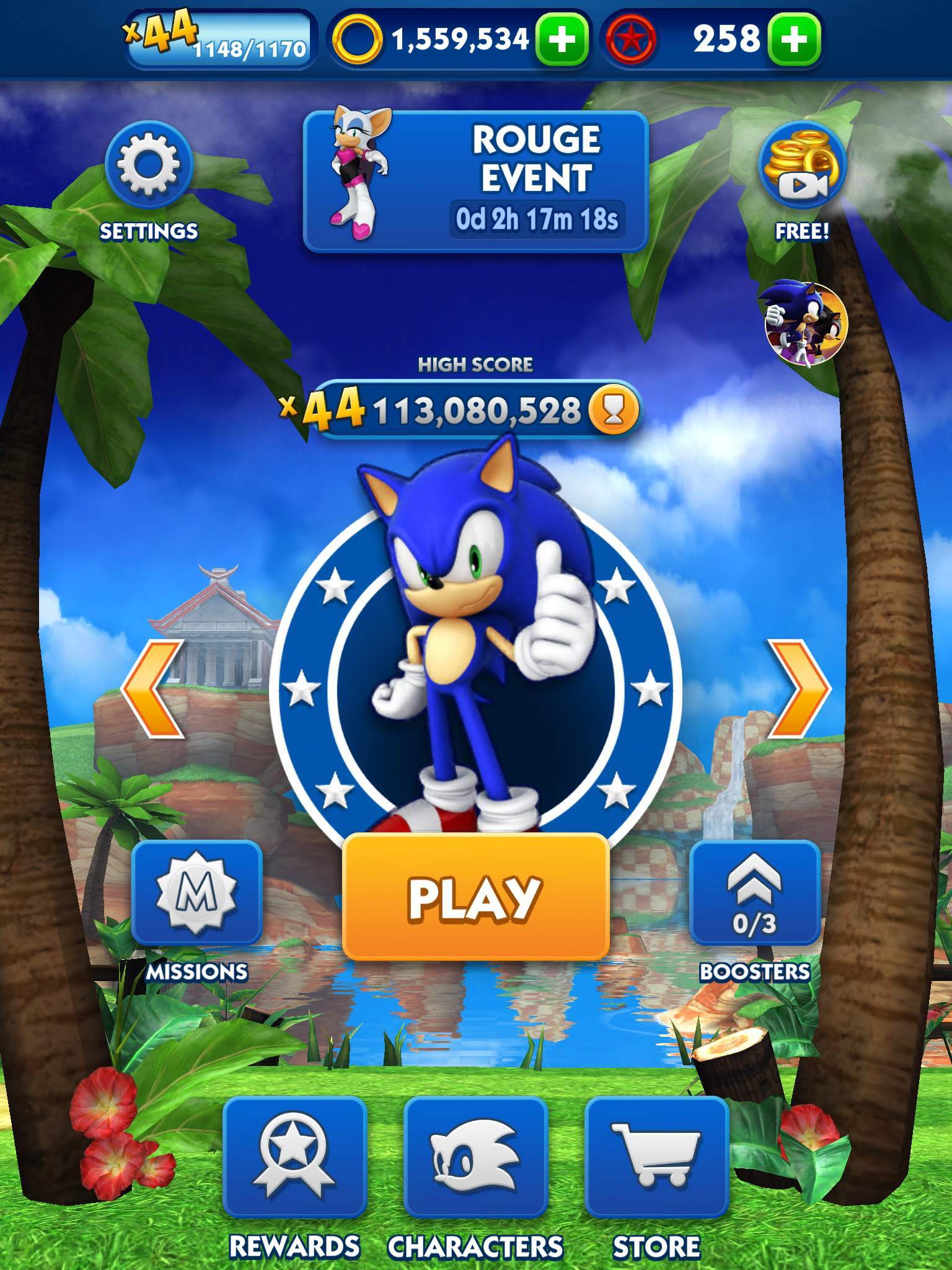 Sonic Dash World Record Sonic The Hedgehog Amino