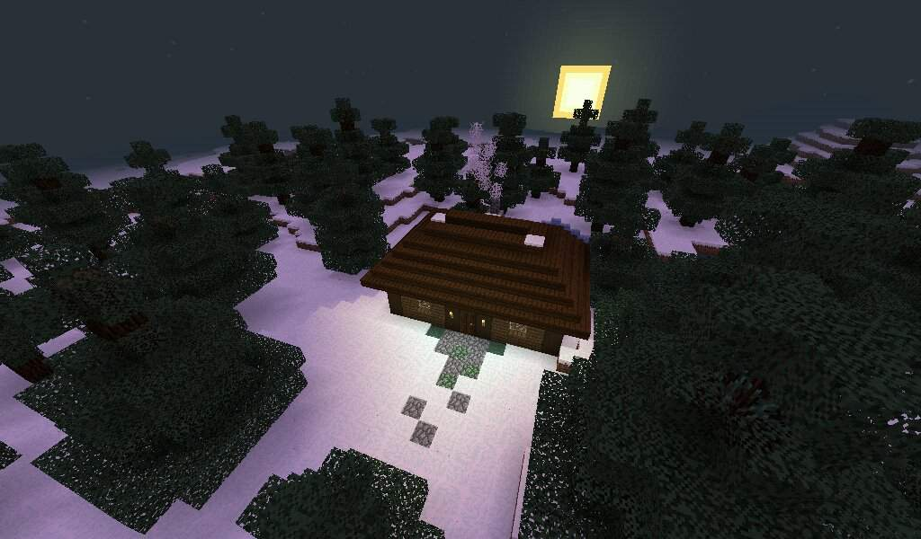 Cozy Winter House Minecraft Amino