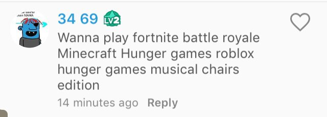 Wanna play fortnite battle royale Minecraft Hunger games