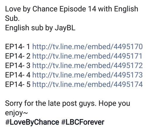 Love By Chance Ep 14 eng sub link its legit :) | K-Drama Amino