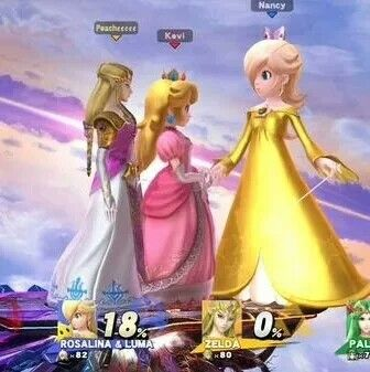 Excellent answer, Princess peach daisy rosalina apologise, but